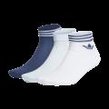 adidas Trefoil Ank Socken HC weiß/navy