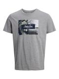 Jack & Jones Tropic T-Shirt grau
