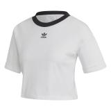 adidas Crop Top Damen weiß