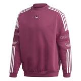 adidas TS Trefoil Sweatshirt rot