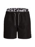 Jack & Jones Aruba Logo Badehose schwarz