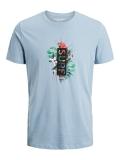 Jack & Jones Virgil T-Shirt hellblau