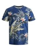 Jack & Jones Tropic T-Shirt blau