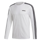 adidas Climate 3-Stripes Shirt weiß