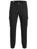 Jack & Jones Paul Cargohose schwarz