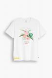 Levis Flamingo Graphic T-Shirt weiß