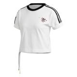 adidas SS Damen T-Shirt weiß