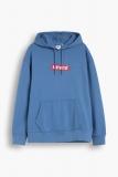 Levis Stick Logo Hoodie marineblau