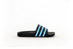 adidas Adilette schwarz/blau
