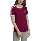 adidas 3-Stripes Shirt berry / lila