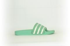 adidas Adilette türkis / weiß
