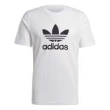 adidas Trefoil T-shirt weiß / schwarz