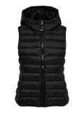 Only hood waistcoat Weste schwarz