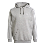 adidas hoodie grau / weiß