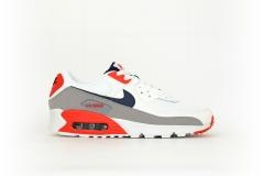 Nike Air Max 90 weiß / blau / grau / rot