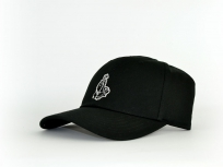 Cayler & Sons Cap Curved  blessed black / schwarz