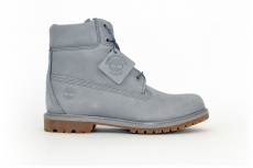 Timberland Damen Classic Leather Boots Grey/ Grau