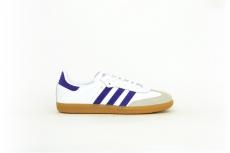 adidas Samba OG weiß / lila