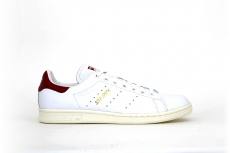 adidas Stan Smith weiß / weinrot