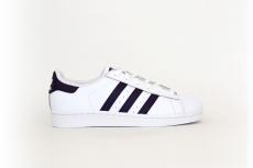 adidas Superstar weiß / lila