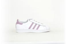 adidas Damen Superstar W pastell rosa/weiß