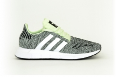 adidas Swift run grau / grün meliert