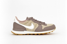 Nike Damen Internationalist beige / weiß meliert