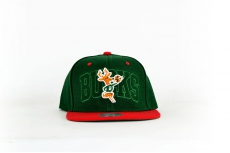 Mitchell & Ness Cap Bucks green / red