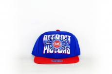 Mitchell & Ness Cap Pistons blue / red