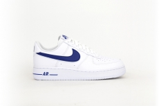 Nike Air Force 1 07 3 weiß / dunkelblau