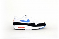 Nike Air Max 1 schwarz / blau / orange