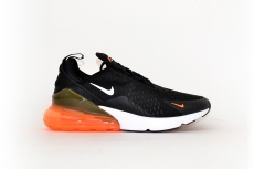 Nike Air Max 270 black / orange neon