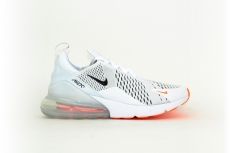 Nike AIR MAX 270 weiß / white orange / orange