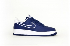 Nike Air Force 1 '07 Lthr blau / weiß