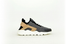 Nike Damen Air Huarache Run Ultra schwarz / grau / beige